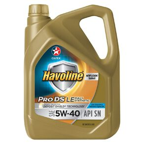 Caltex Havoline Fully Synthetic 5W-40 Engine Oil 4L