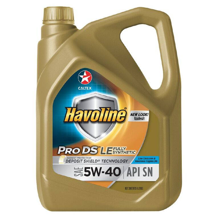 Caltex Havoline Fully Synthetic 5W-40 Engine Oil 4L, , hi-res