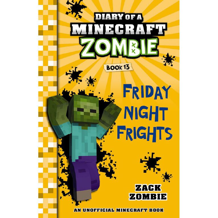 Minecraft Zombie #13 Friday Night Frights by Zack Zombie, , hi-res