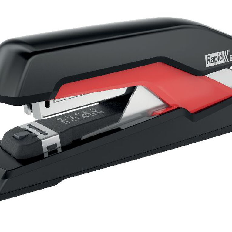 Rapid Stapler So30 Omnipress 30 Sheet Fullstrip Black/Red, , hi-res