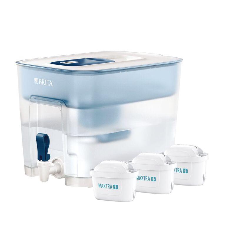 Brita Flow Jug 8.2L with 3 Maxtra+ Filters White, , hi-res