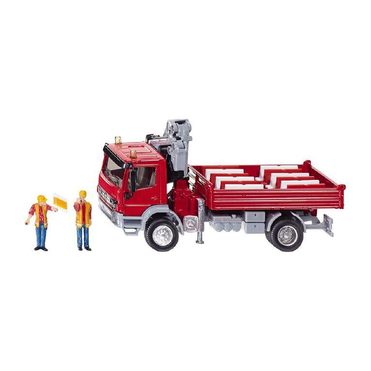 Siku 1:50 Mercedes Atego Truck with Crane, , hi-res