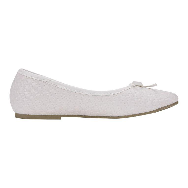 Young Original Petra Bow Shoes, White, hi-res
