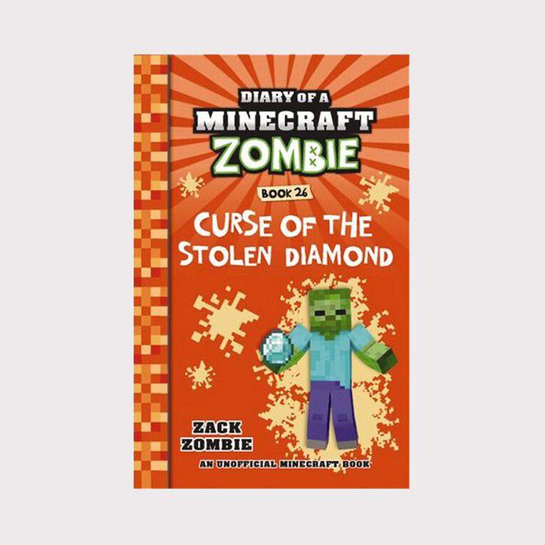 Minecraft Zombie #26 Curse of the Stolen Diamond by Zack Zombie, , hi-res