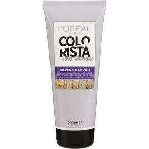 L'Oreal Paris Colorista Silver Toner Shampoo 200mL