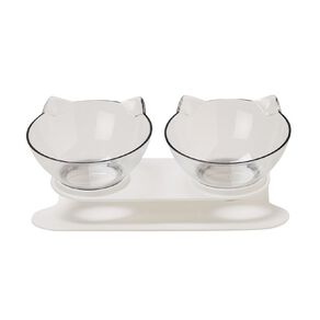 Petzone Double Cat Bowls On A Raised Stand