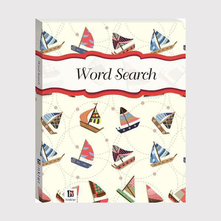 Flexibound Puzzles: Wordsearch #1 Sailboats, , hi-res