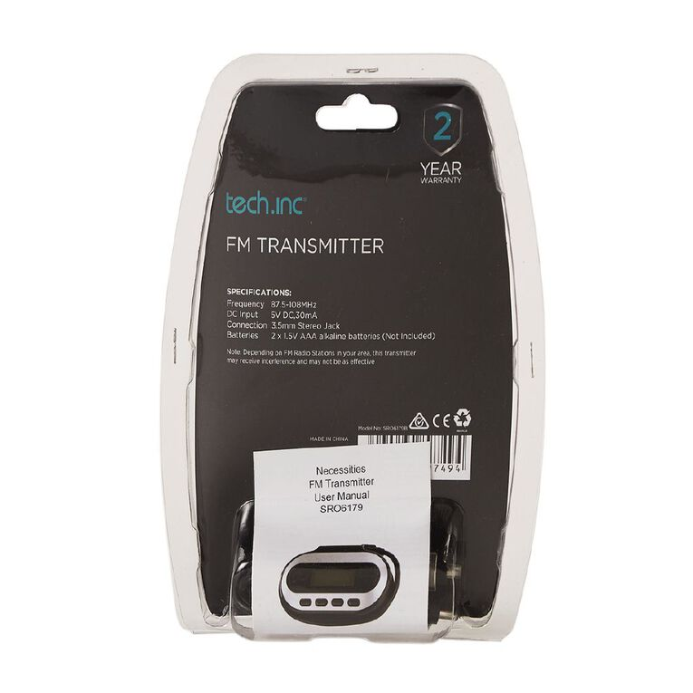 Tech.Inc FM Transmitter, , hi-res