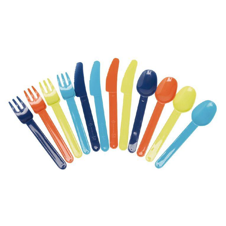 Living & Co Essentials Picnic Cutlery 12 Piece, , hi-res