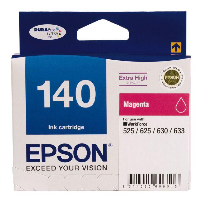 Epson Ink 140 Magenta (755 Pages), , hi-res