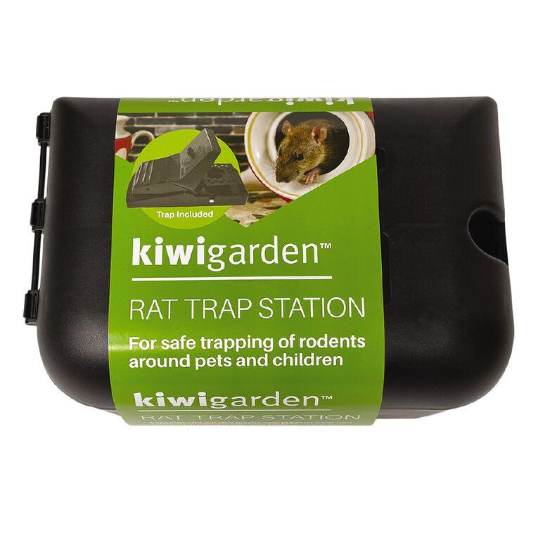 Kiwi Garden Rat Trap Box includes Snap Trap, , hi-res