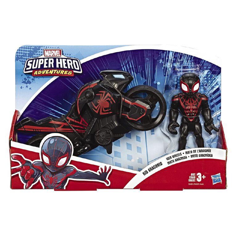 Marvel Avengers Super Hero Figure & Motorcycle Assorted, , hi-res