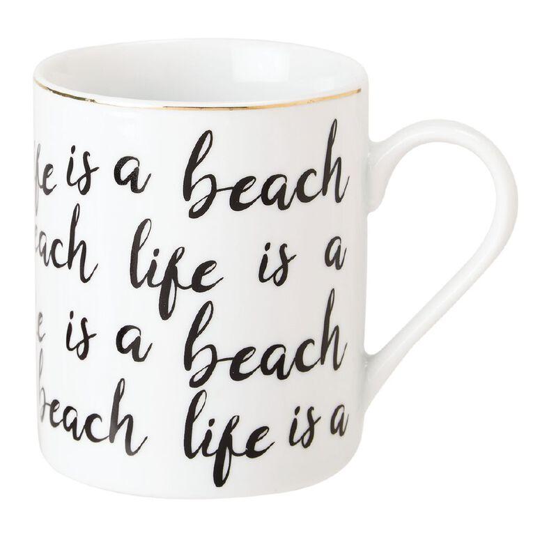 Living & Co Lifes a Beach Mug, , hi-res