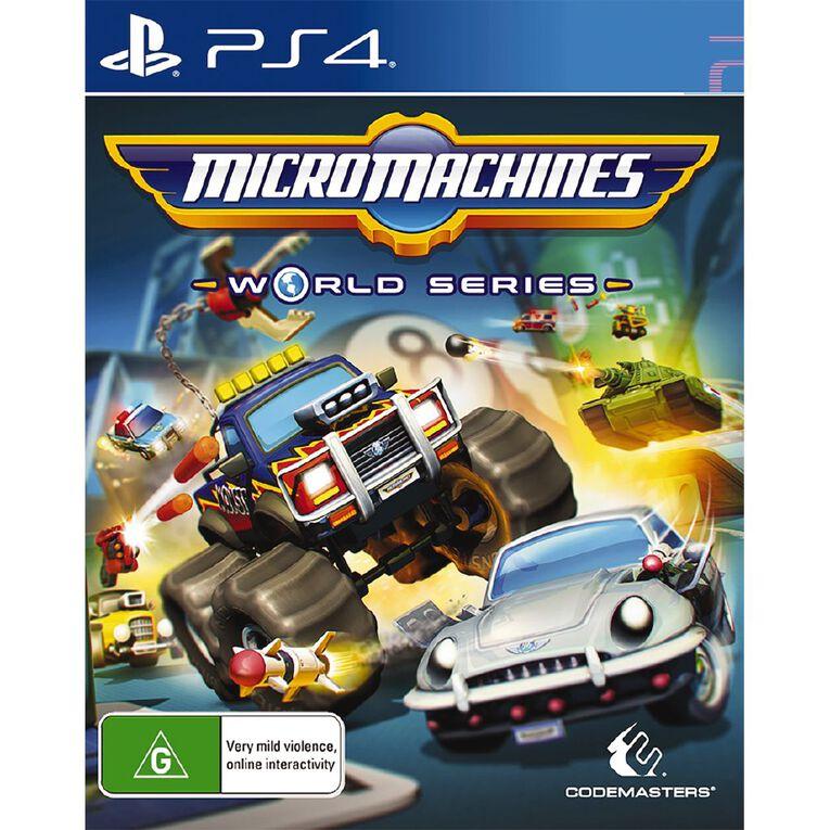 PS4 Micro Machines, , hi-res