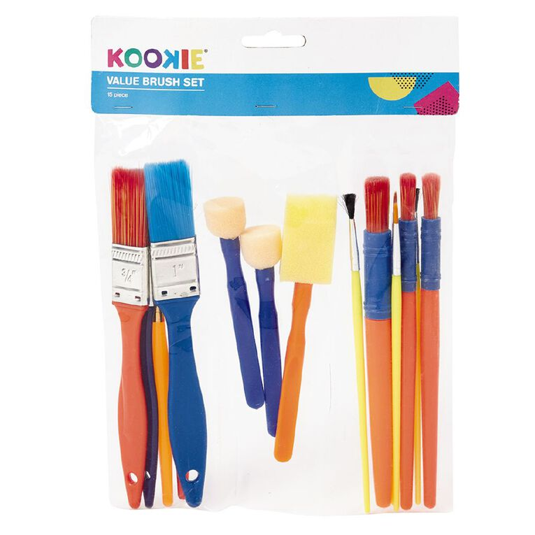 Kookie Brush Value Set 15 Piece, , hi-res