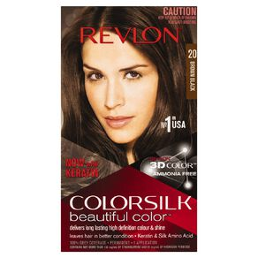 Revlon Colorsilk Brown/Black 20