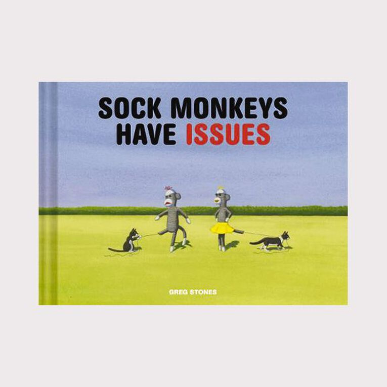 Sock Monkeys Have Issues by Greg Stones, , hi-res