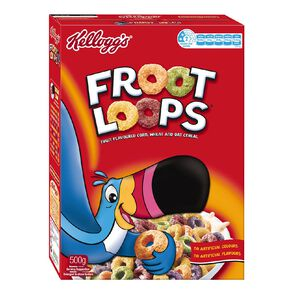 Kelloggs Froot Loops Cereal 500g