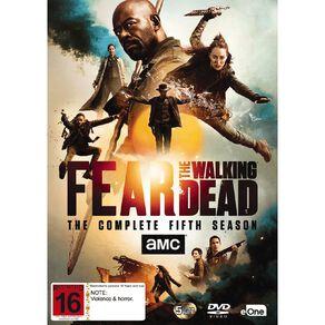 5DVD Fear The Walking Dead Season 5 5Disc