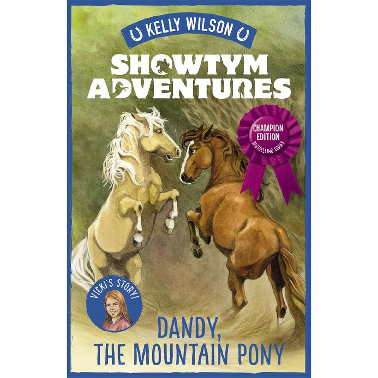 Showtym Adventures #1 Dandy the Mountain Pony Champion Ed, , hi-res