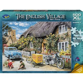 The English Village S2 500 Piece XL Puzzle Assorted