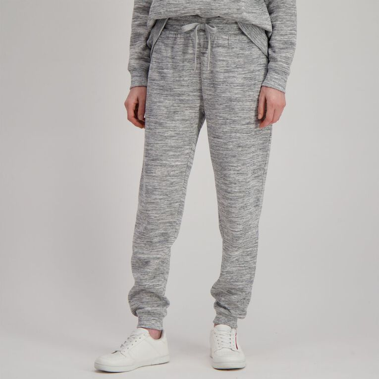 H&H Women's Cuffed Trackpants, Grey, hi-res image number null