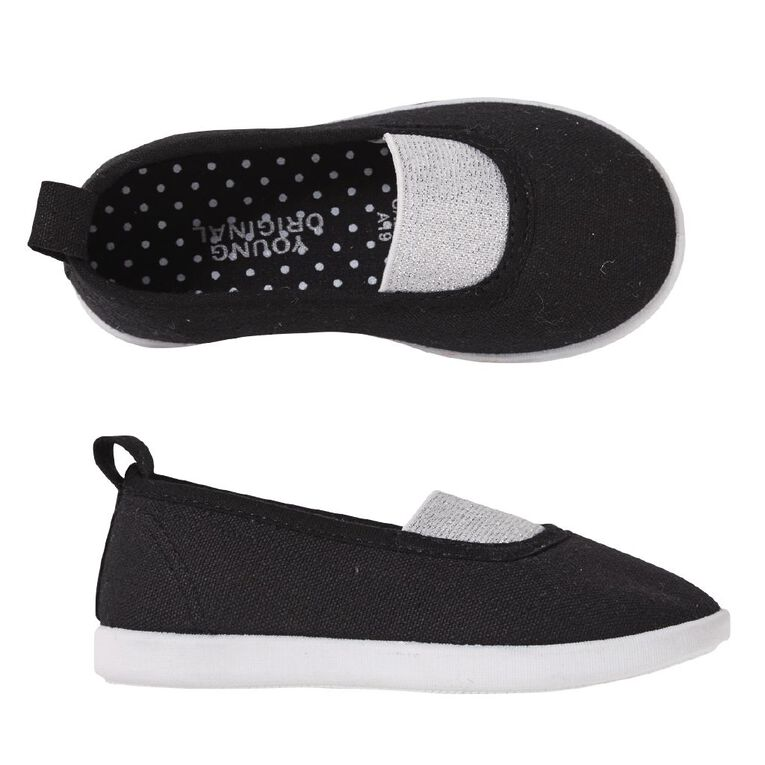 Young Original Gabby Canvas Shoes, Black W20, hi-res image number null