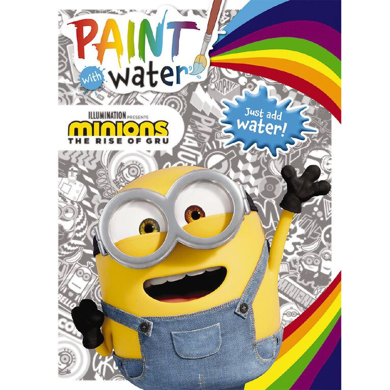 Minions The Rise of Gru: Paint with Water, , hi-res