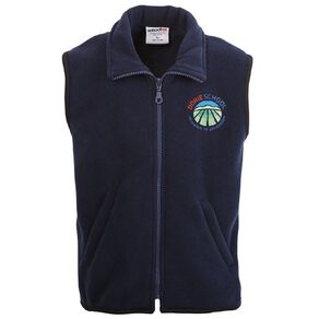 Schooltex Dorie School Polar Fleece Vest with Embroidery