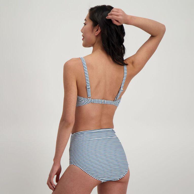 H&H Swim Women's Full Cup Bikini Top, Blue Dark, hi-res