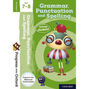 Grammar and Punctuation Age 7-8 by Oxford University Press