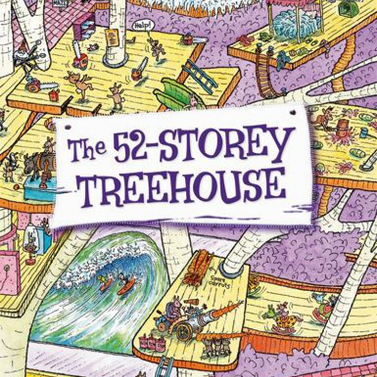 The 52 Storey Treehouse by Andy Griffiths & Terry Denton, , hi-res