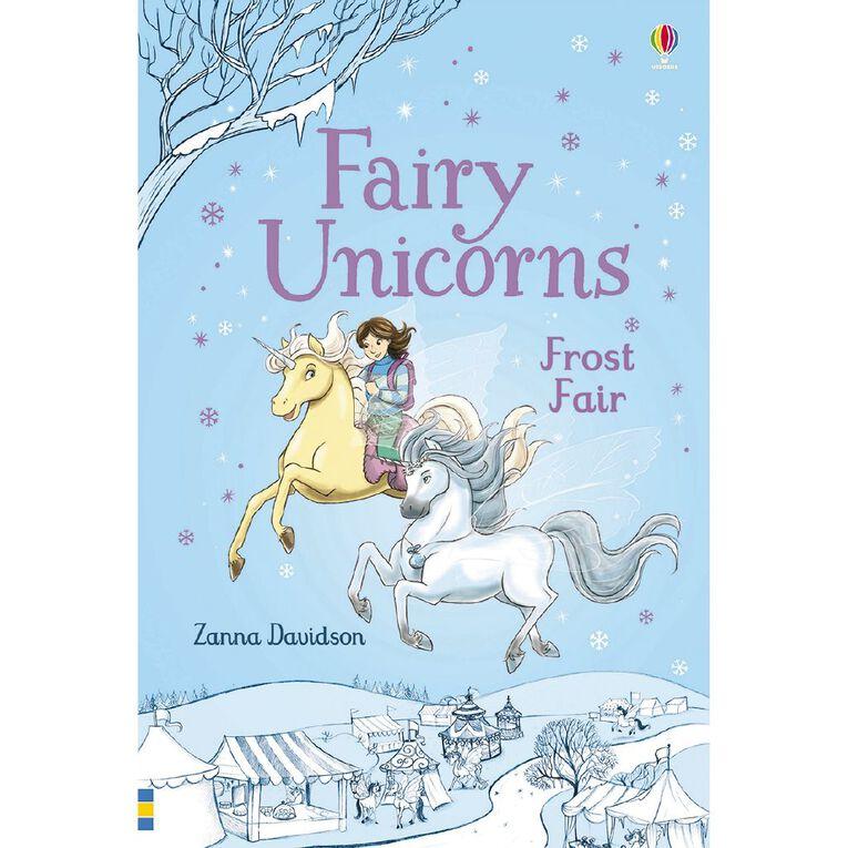Fairy Unicorns #5 Frost Fair by Zanna Davidson, , hi-res