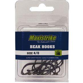 Maxistrike Beak Hooks 4/0 16 Pack