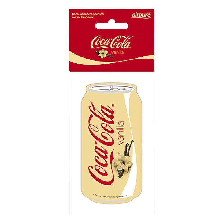 Coca Cola Hanging Car Air Freshener Original Vanilla can, , hi-res
