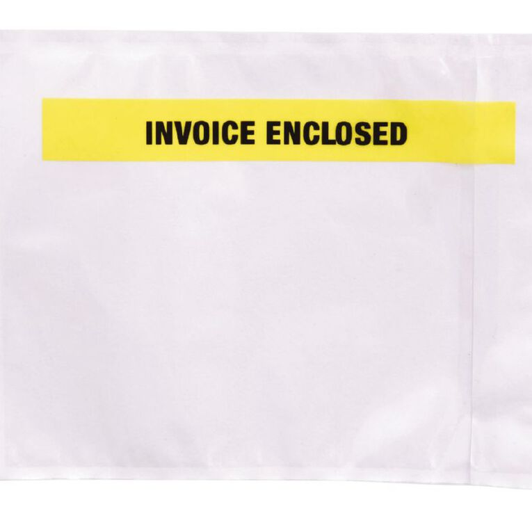 Pomona Packing Labelopes Invoice Enclosed 1000 Pack, , hi-res