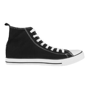 H&H Mens Freestyle Canvas High Top Sneakers