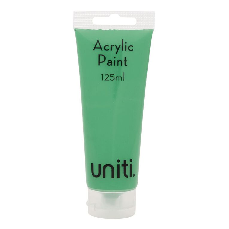 Uniti Acrylic Tube Aqua 125ml, , hi-res