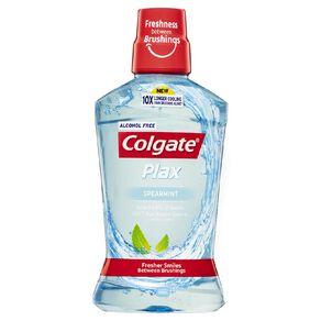 Colgate Plax Spearmint Mouth Rinse 500ml