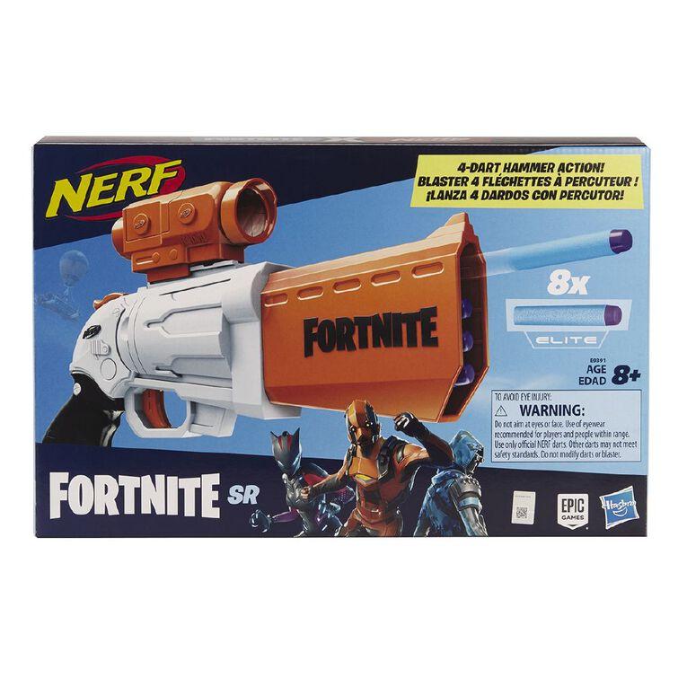 NERF Fortnite SR Blaster, , hi-res