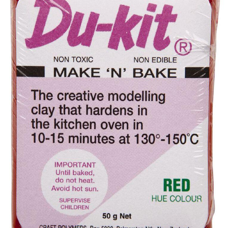 Du-kit Clay Red 50g, , hi-res