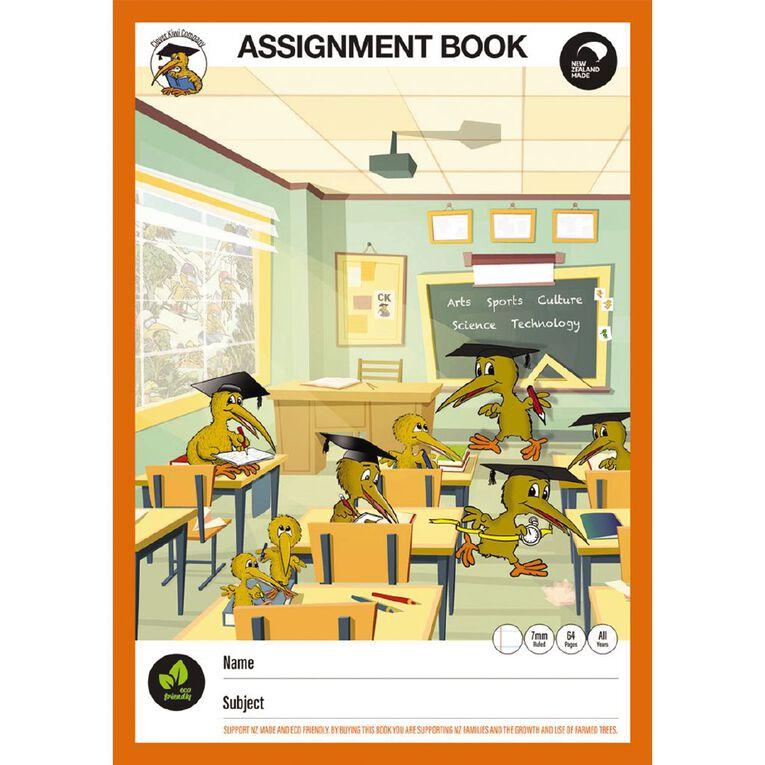 Clever Kiwi Assignment Book, , hi-res