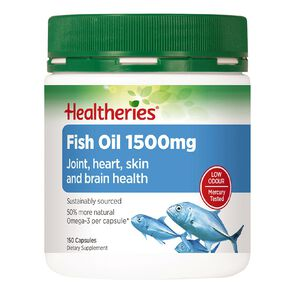 Healtheries Fish Oil 1500mg 150 Pack