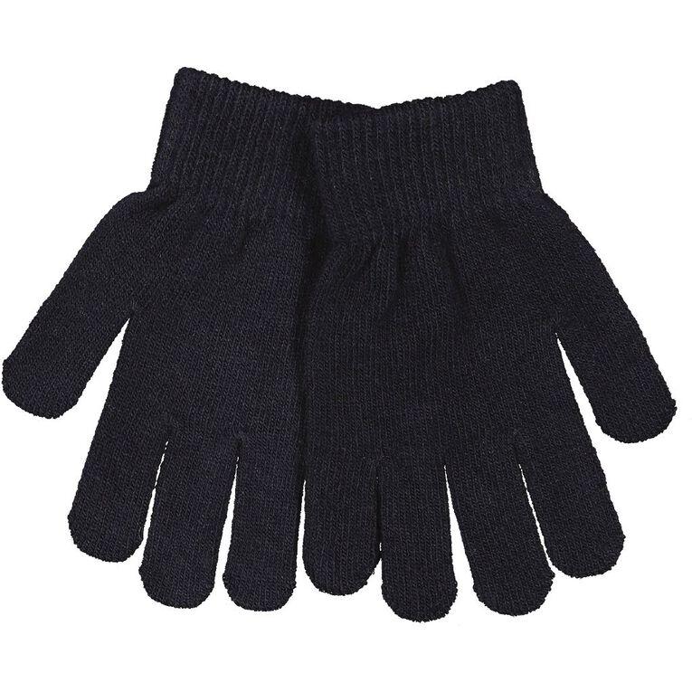 H&H Essentials Kids' Entry Gloves FF, Navy, hi-res