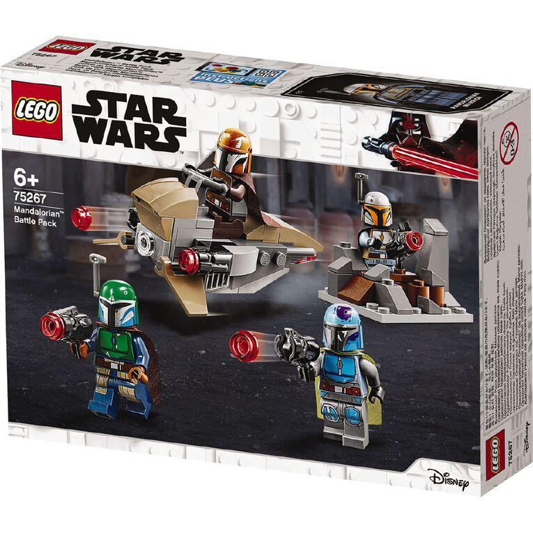 LEGO Star Wars Mandalorian Battle Pack 75267, , hi-res