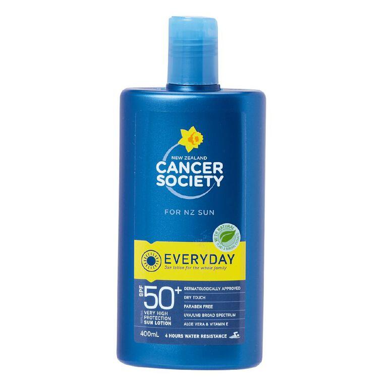 Cancer Society Sunscreen SPF 50+ Lotion, , hi-res