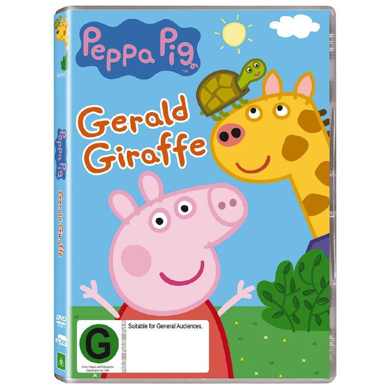 Peppa Pig Gerald Giraffe DVD 1Disc, , hi-res