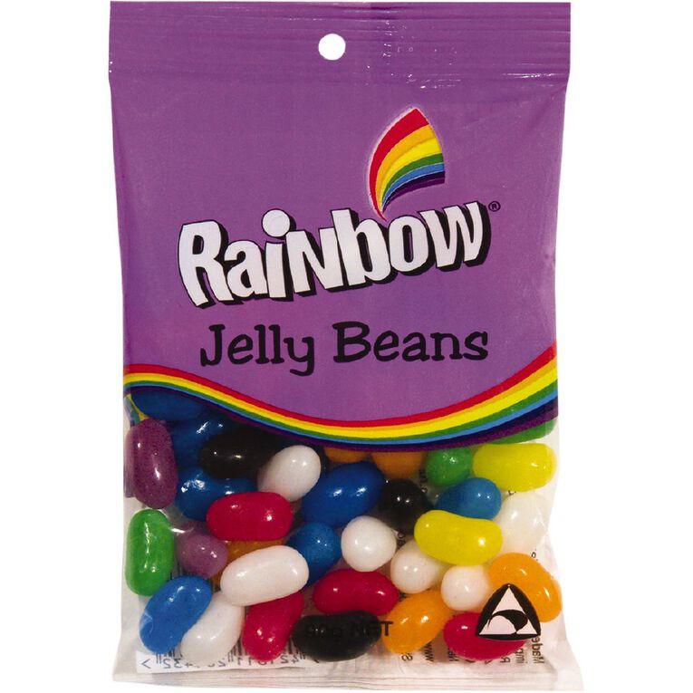 Rainbow Jelly Beans 90g, , hi-res