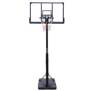 Active Intent Sports Basketball Stand with Clear Backboard