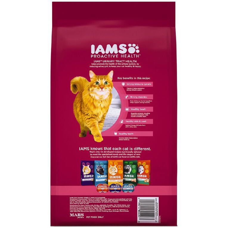 Iams Cat Proactive Health Urinary Tract Health with Chicken 1.59kg, , hi-res